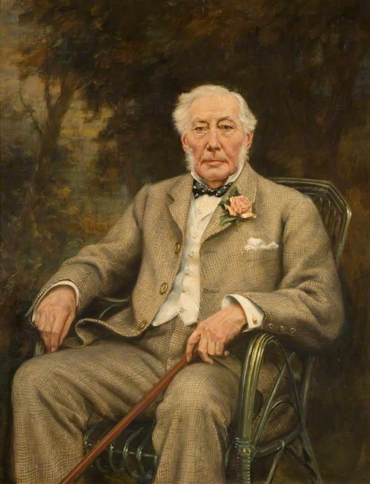 Frank James (1821–1924), DL, JP