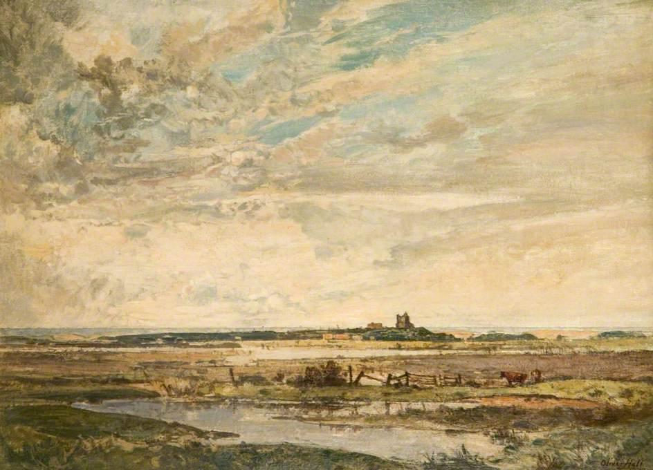 Marshland on the Norfolk Coast
