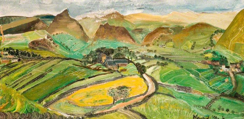 Yellow Field, Earlsterndale, Derbyshire