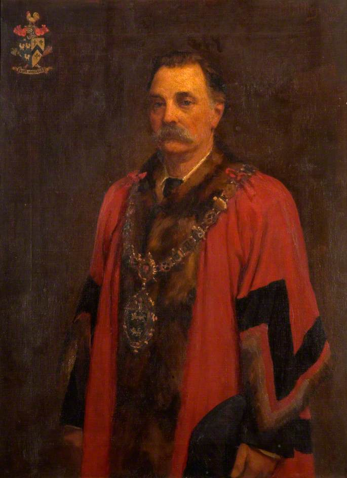 Alderman Wilson Lloyd, Mayor of the Wednesbury Corporation (1888–1890)