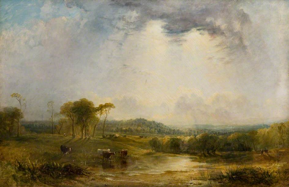 Landscape with Harrow in the Distance