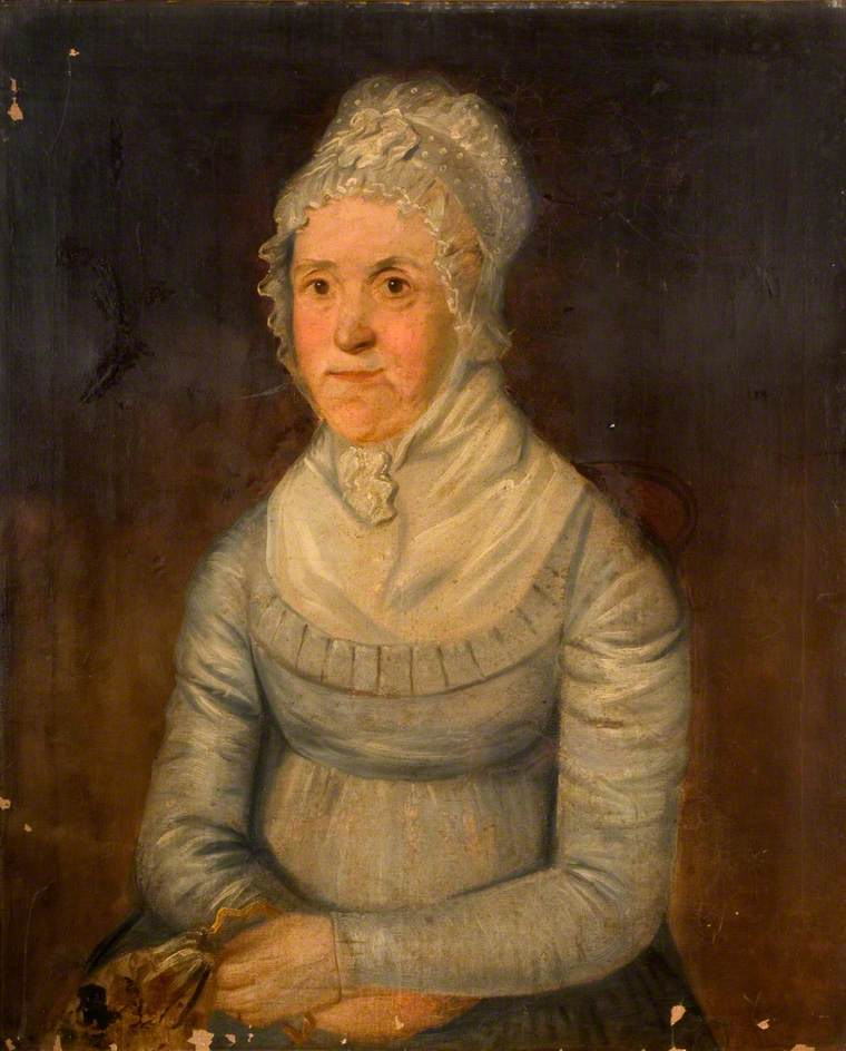 Mary Bissell, (1751–1824), Wife of Edward Fisher