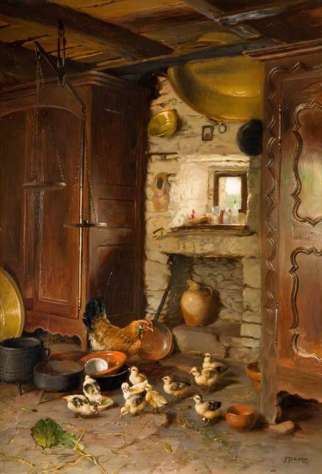 Interior, French Farmhouse
