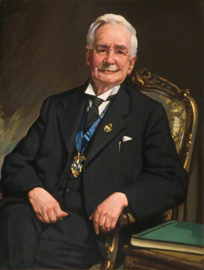 Councillor George Henry Griffiths, Mayor of Oldbury (1939–1940)