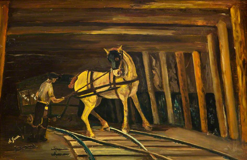 Horse and Haulier Underground