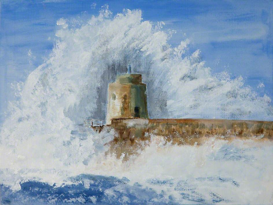 End of the Breakwater
