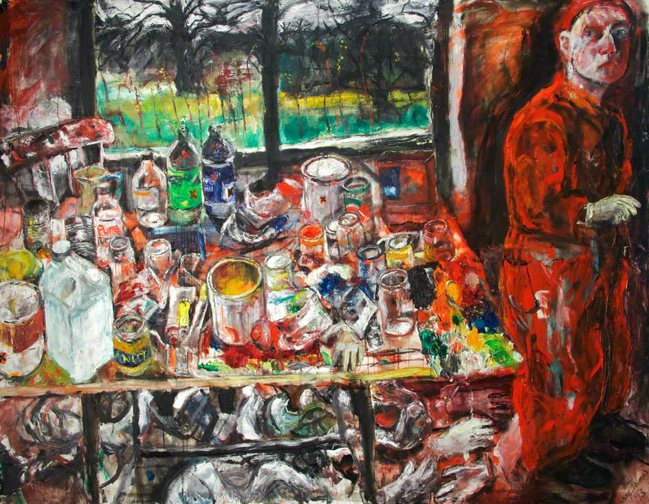 Studio; Self Portrait