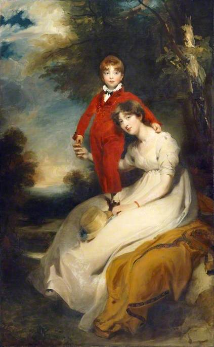 Mrs Charles Thellusson, née Sabine Robarts (1775–1814), and Her Son, Charles Thellusson (1797–1856)