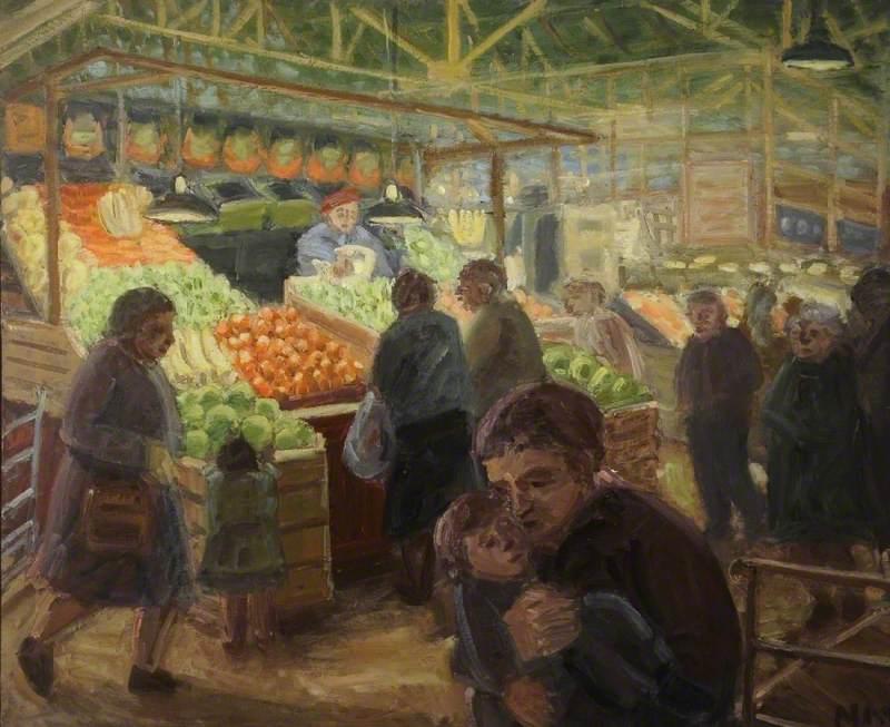 Miss Harris' Vegetable Stall