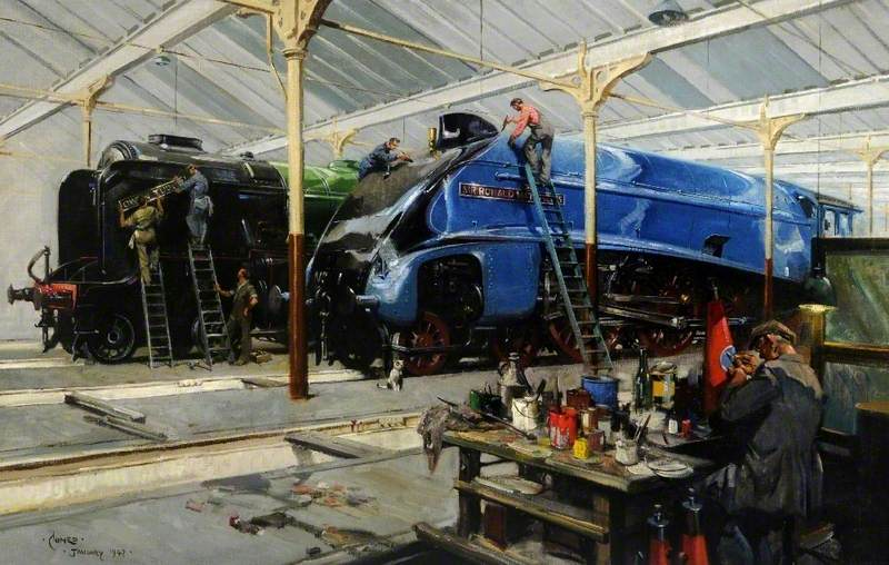 Giants Refreshed: Pacifics in the Doncaster Locomotive Works
