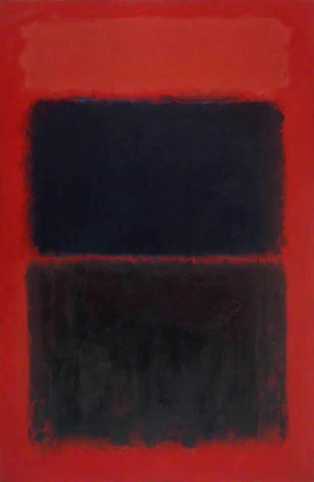 Light Red Over Black
