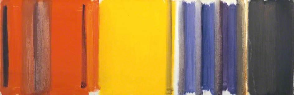 Scarlet, Lemon and Ultramarine: March 1957