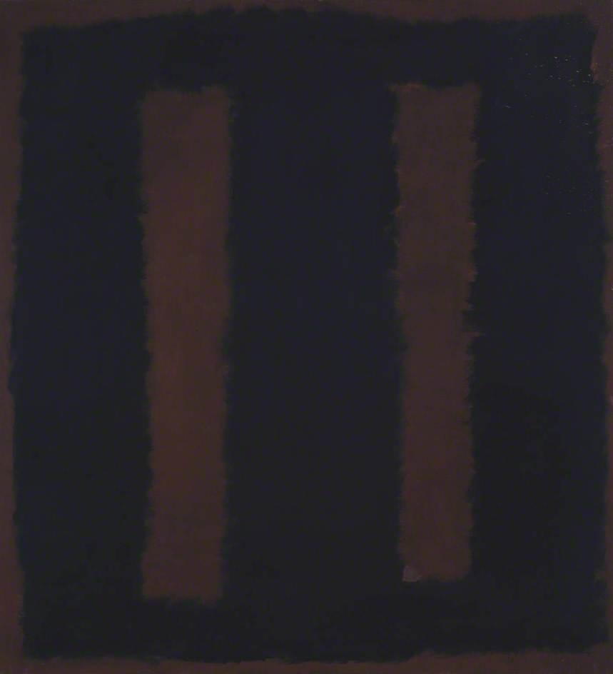 Black on Maroon