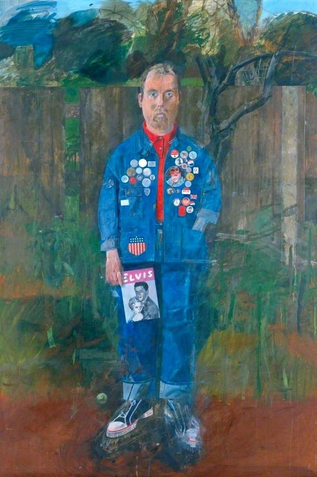 Self-Portrait with Badges