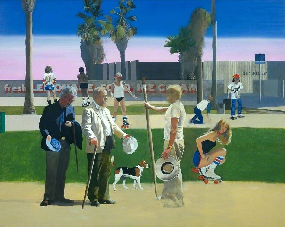 'The Meeting' or 'Have a Nice Day, Mr Hockney'