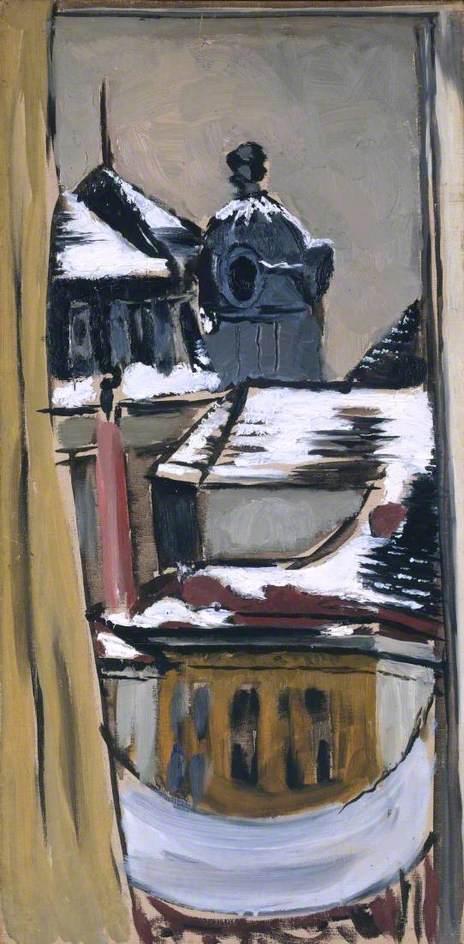 View from the Window, Vienna (Blick aus dem Fenster, Wien)