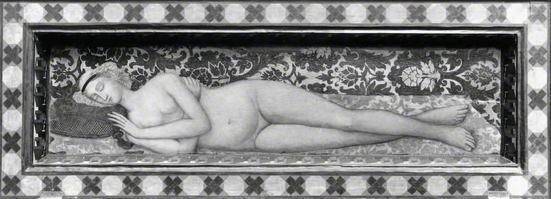 A Sleeping Nude Woman