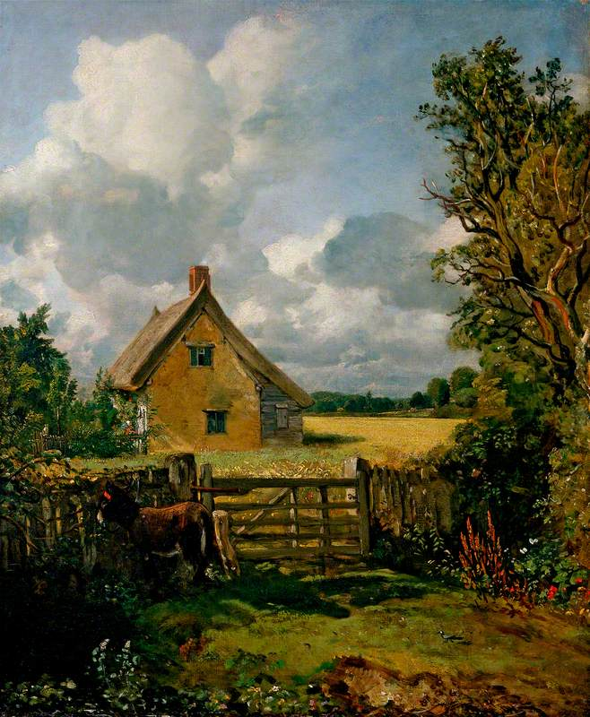 The Cottage in a Cornfield