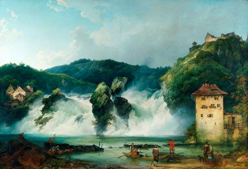 The Falls of the Rhine at Schaffhausen