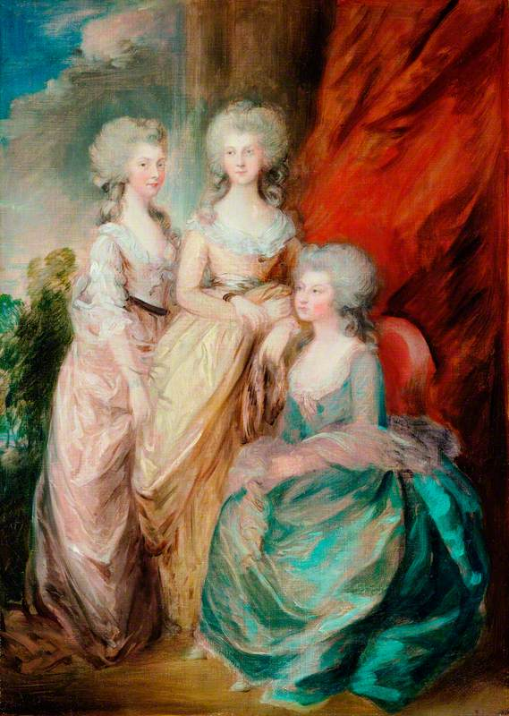 The Three Eldest Daughters of George III: Princesses Charlotte Augusta Matilda (1766–1828), Augusta Sophia (1768–1840), and Elizabeth (1770–1840)