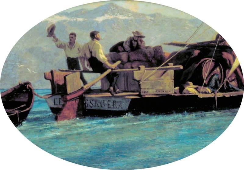 A Luggage Boat