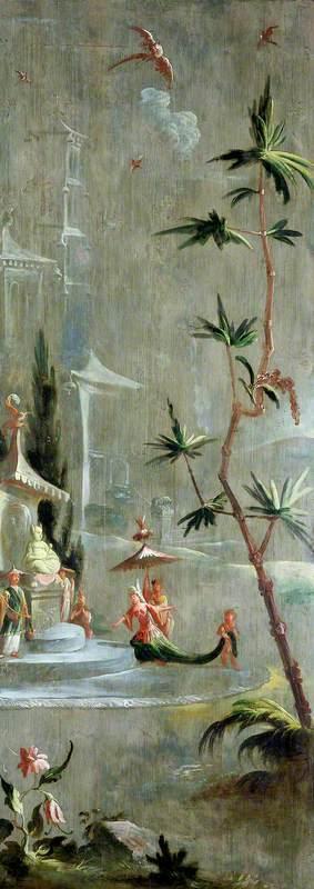 A Chinese Princess at a Shrine