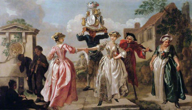 The Milkmaid's Garland (Humours of May Day)