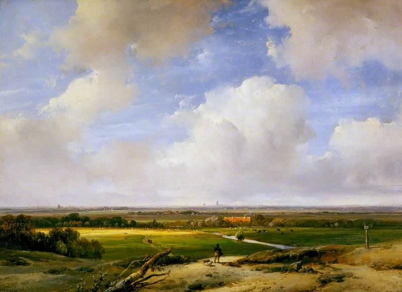 Landscape near Haarlem