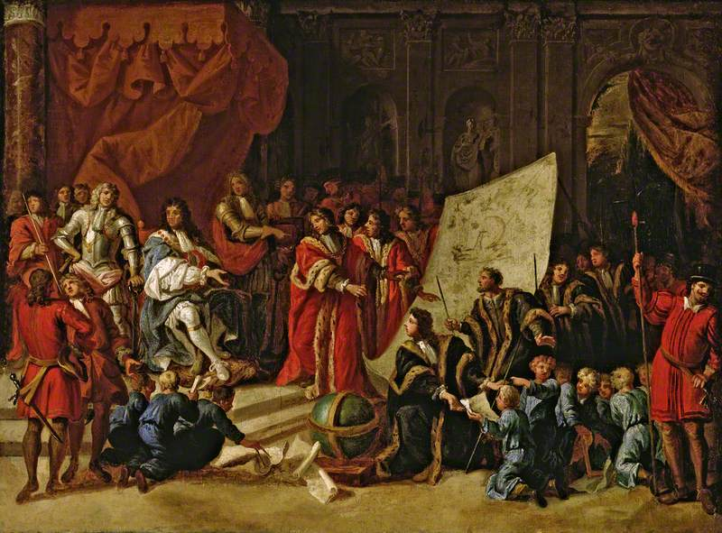 Charles II Giving an Audience at Christ's Hospital