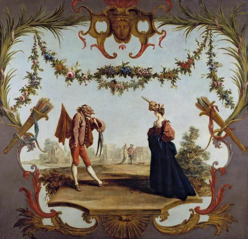 Capitano Cerimonia and Signora Lavinia