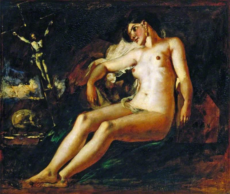 Study of a Magdalen