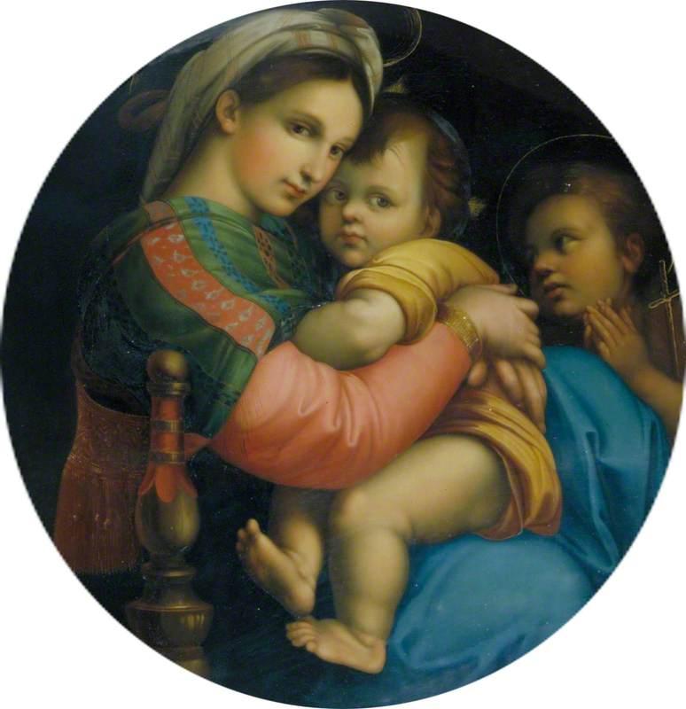 Madonna and Child (Madonna della Seggiola)