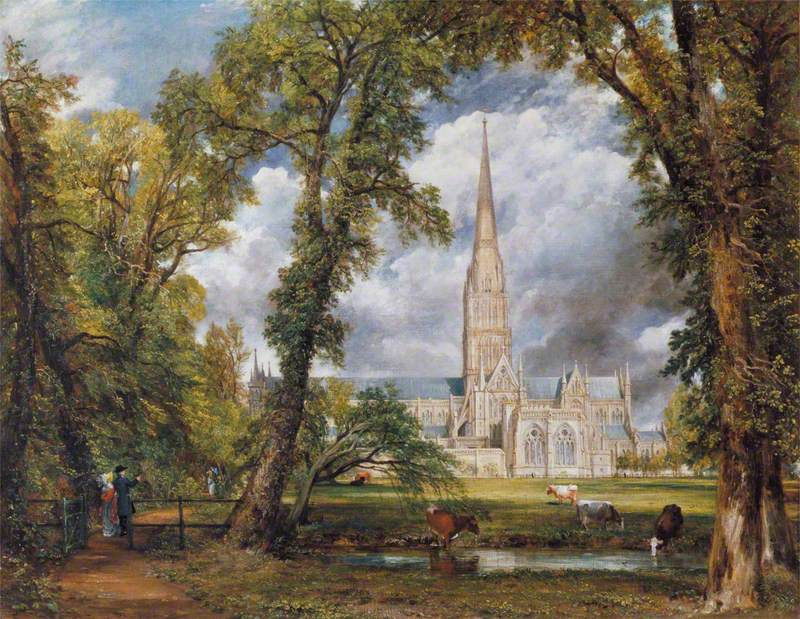Salisbury Cathedral from the Bishop's Grounds