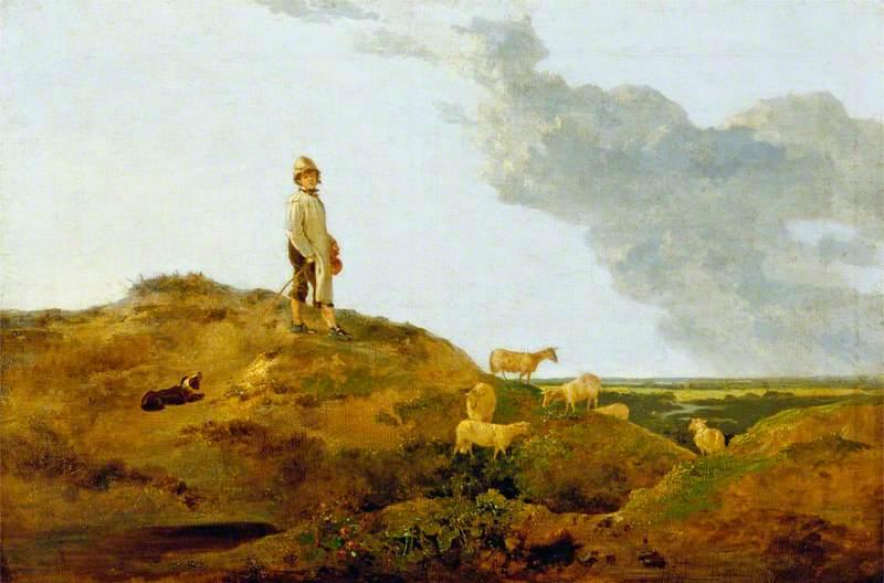 View on Mousehold Heath, near Norwich