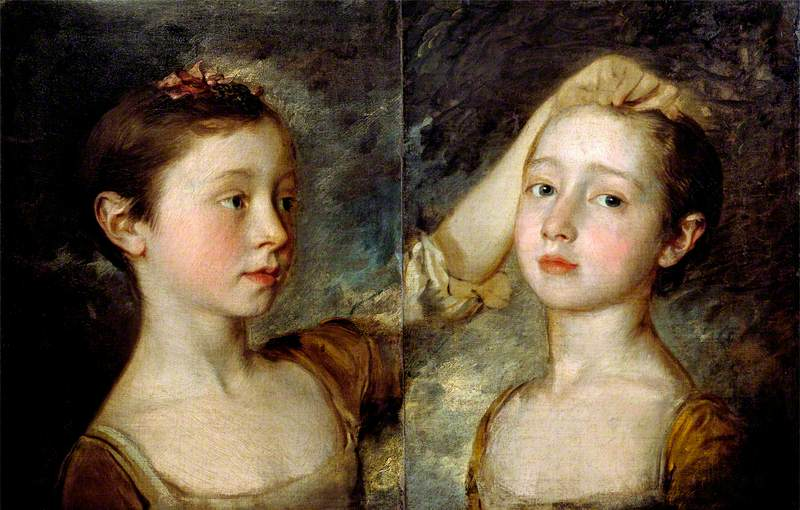 Portrait of the Painter's Two Daughters