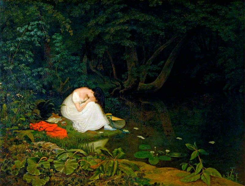 Image result for disappointed love francis danby