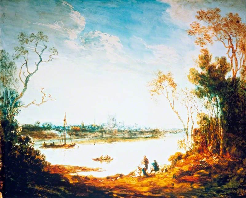 A Town across a River
