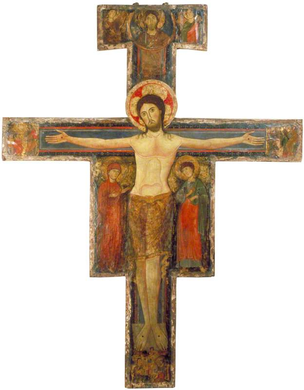 The Crucifixion with the Virgin Mary and Saint John