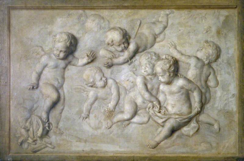 Cupids Playing