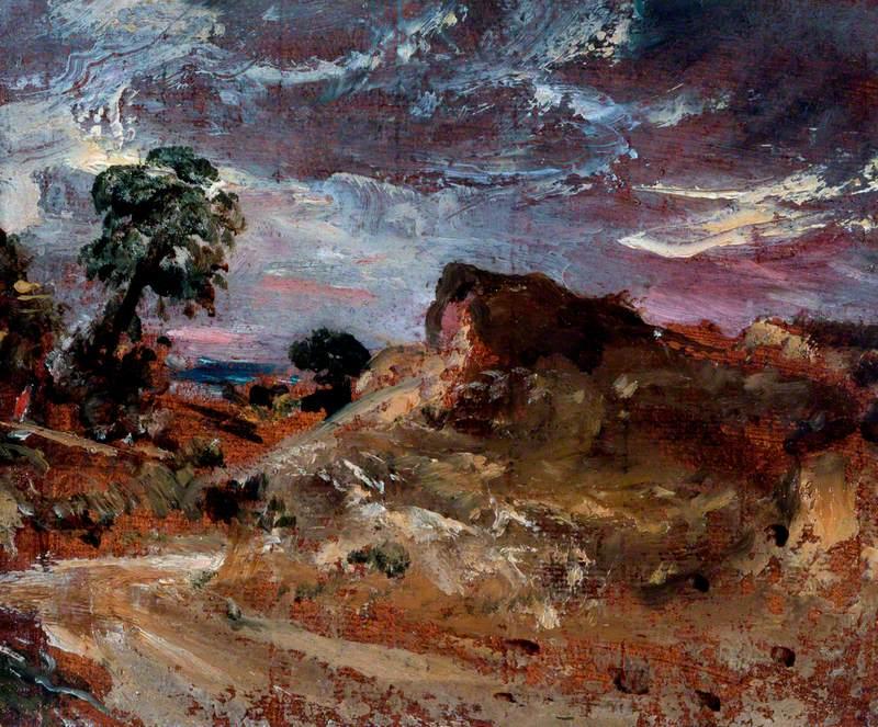 A Country Road and a Sandbank