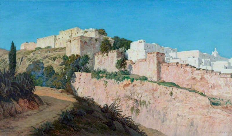The Casbah and the Ravine of the Centaur, Algiers