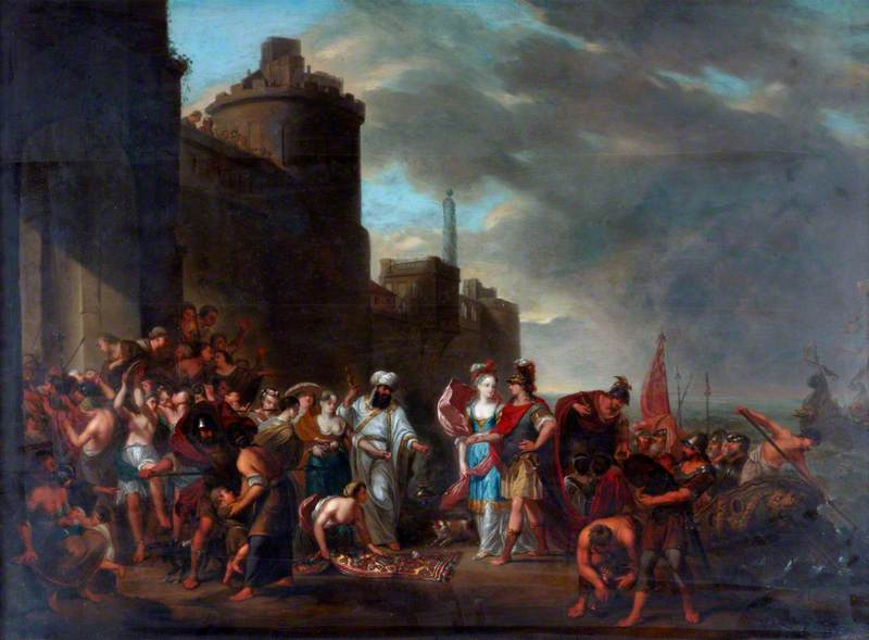 Dido Conducting Aeneas to the Palace at Carthage