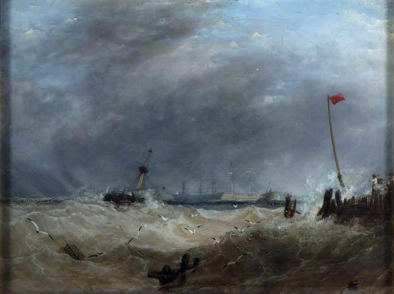 A Sea Port: Gale Rising