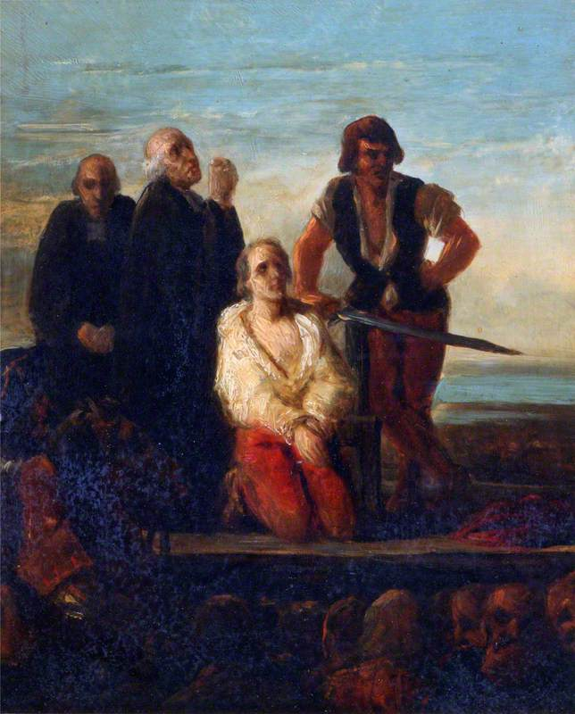 The Execution of Major Davel