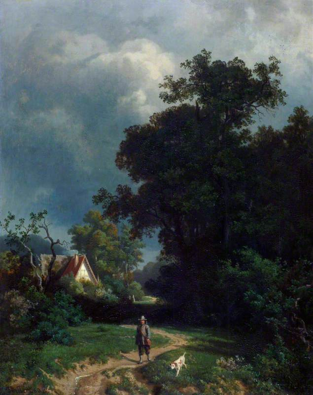 Landscape with a Farm House