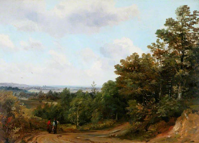 A Distant View of Windsor from St George's Hill