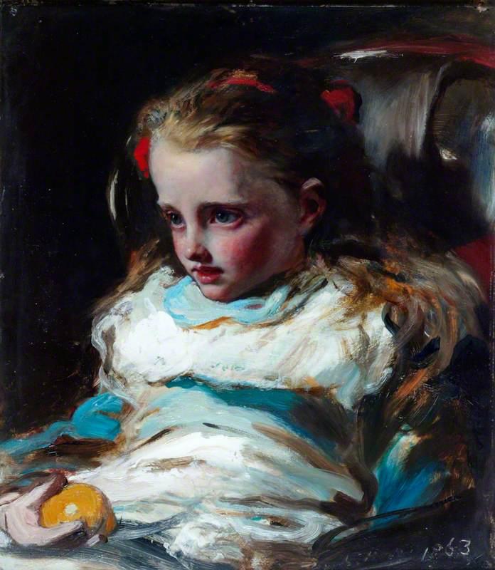 Ellen Sarah Gibbs as a Little Girl
