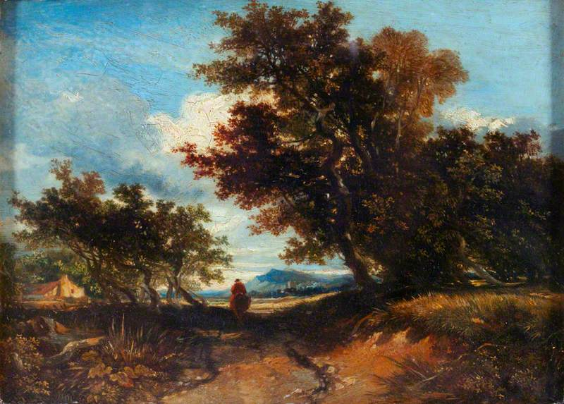Landscape with a Horseman