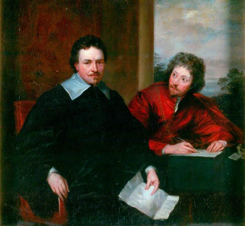 Thomas Wentworth (1593–1641), 1st Earl of Strafford, and His Secretary Sir Philip Mainwaring (1589–1661)