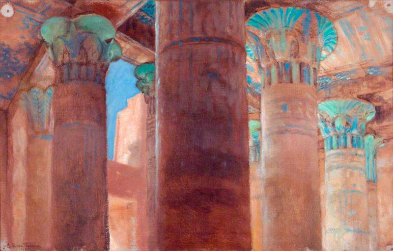 Study of Columns at Philae
